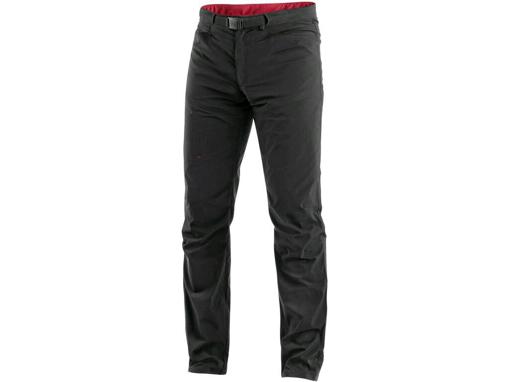 Obrázok z CXS OREGON Pánske nohavice do pása, letné, čierne-červené