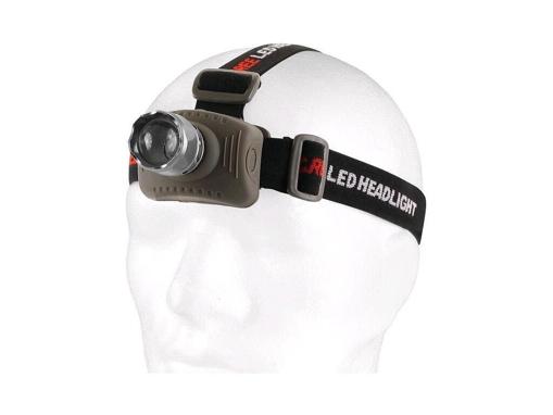 Obrázok z CXS LED čelovka s hliníkovým telom