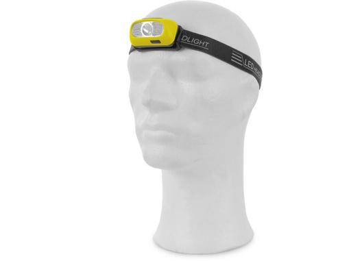 Obrázok z CXS Čelovka CREE LED XPG, nabíjací, žlto-čierna