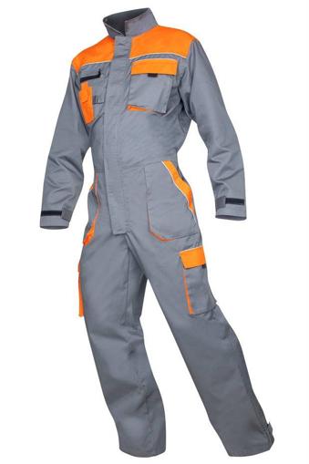 Obrázok z 2STRONG Pracovný overal šedo-oranžový