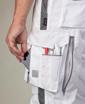 Obrázok z ARDON URBAN Pracovné nohavice do pása biele