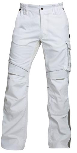 Obrázok z ARDON URBAN Pracovné nohavice do pása bielej predĺženej