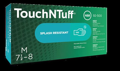 Obrázok z Ansell TOUCH N TUFF 92-500 Pracovné jednorazové rukavice
