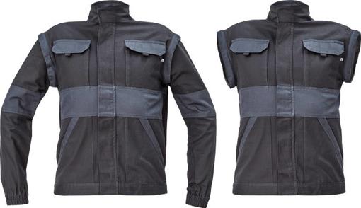 Obrázok z Cerva MAX NEO Pracovná montérková bunda 2v1 čierno / sivá