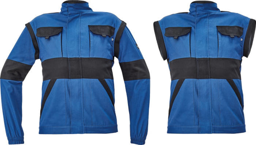 Obrázok z Cerva MAX NEO Pracovná montérková bunda 2v1 modro / čierna