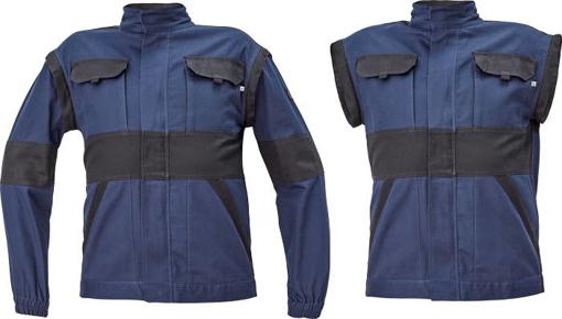 Obrázok z Cerva MAX NEO Pracovná montérková bunda 2v1 navy / čierna