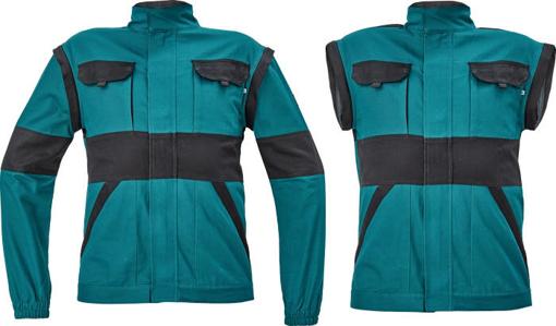 Obrázok z Cerva MAX NEO Pracovná montérková bunda 2v1 zeleno / čierná