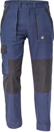 Obrázok z Cerva MAX NEO Pracovné nohavice do pasu navy / čierna