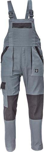 Obrázok z Cerva MAX NEO Pracovné nohavice s trakmi antracit / čierna