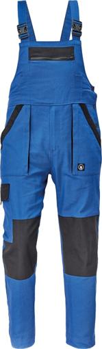 Obrázok z Cerva MAX NEO Pracovné nohavice s trakmi modro / čierne