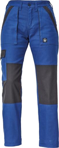 Obrázok z Cerva MAX NEO LADY Pracovné nohavice do pásu modro / čierne