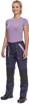 Obrázok z Cerva MAX NEO LADY Pracovné nohavice do pasu navy / sv.fialová