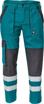 Obrázok z Cerva MAX NEO REFLEX Pracovné nohavice do pasu zeleno / čierne