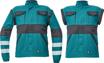 Obrázok z Cerva MAX NEO REFLEX Pracovná montérková bunda 2v1 zeleno / čierna