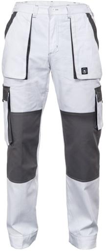 Obrázok z Červa MAX SUMMER Pracovné nohavice do pásu bielo / šedej