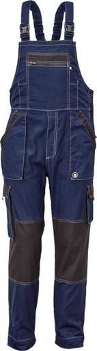 Obrázok z Červa MAX SUMMER Pracovné nohavice s trakmi navy / antracit