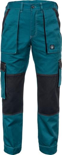 Obrázok z Červa MAX SUMMER Pracovné nohavice do pasu zeleno / čierna