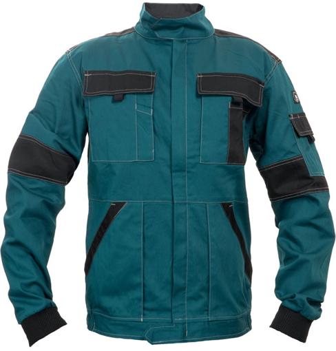 Obrázok z Červa MAX SUMMER Pracovná montérková bunda zeleno / čierna