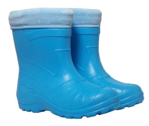 Obrázok z BIGHORN REX 1750 D Detské zateplené gumáky modré