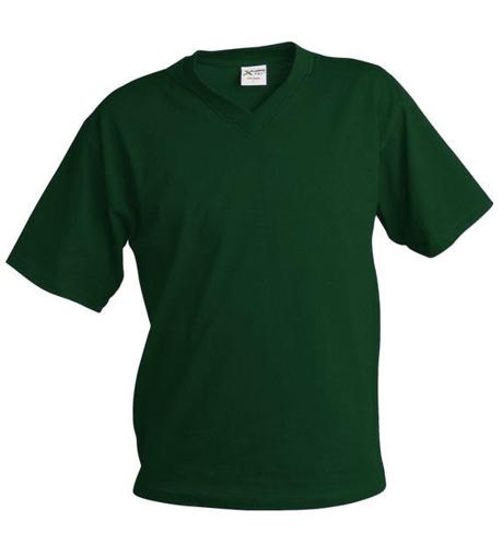 Obrázok z Pánske tričko véčko TV tmavo zelená