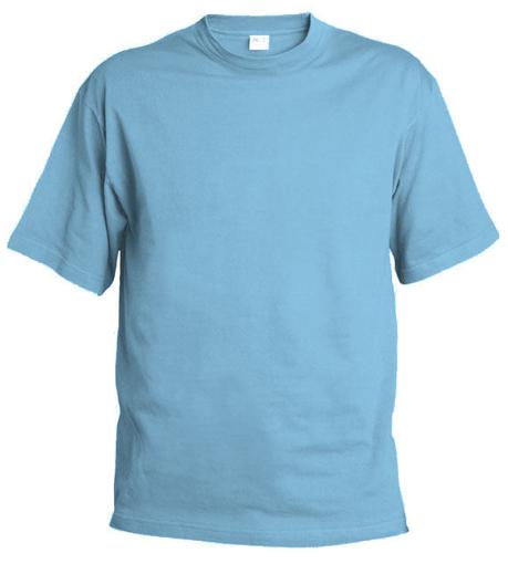 Obrázok z Pánske tričko T55 nebesky modrá