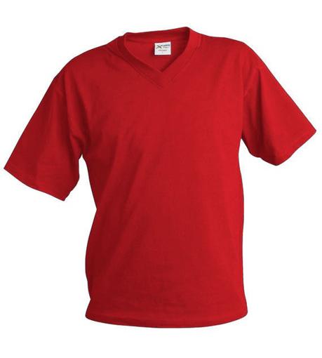 Obrázok z Pánske tričko véčko TV červená