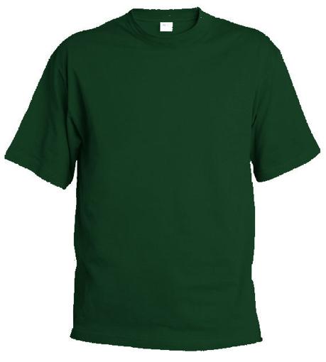Obrázok z Pánske tričko T9 tmovo zelená