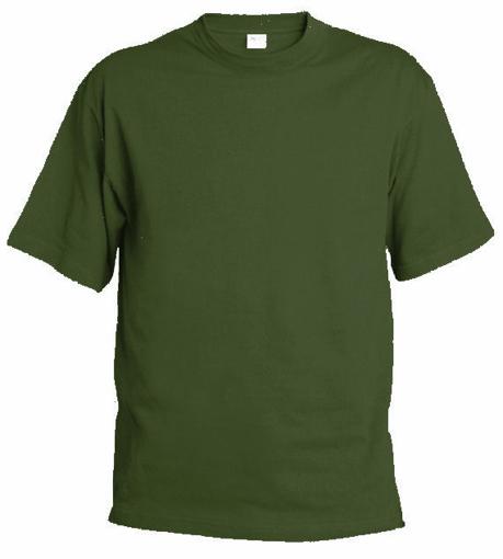 Obrázok z Pánske tričko T9 olivová