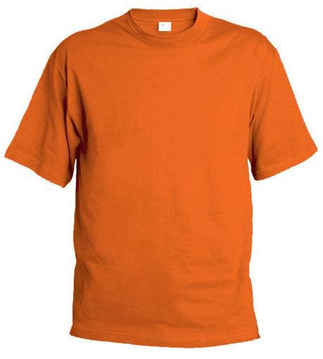 Obrázok z Pánske tričko T9 oranžové