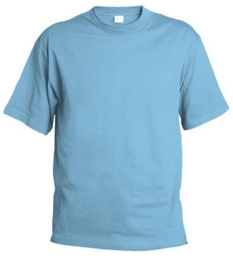 Obrázok z Pánské tričko T9 nebesky modrá