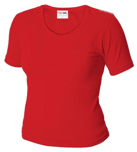 Obrázok z Dámské tričko TLA červené