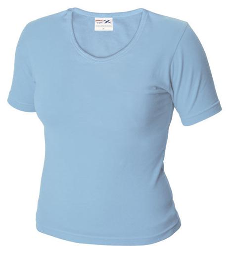 Obrázok z Dámské tričko TLA nebesky modrá