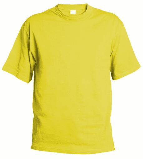 Obrázok z Pánske tričko Chok 190 žlté