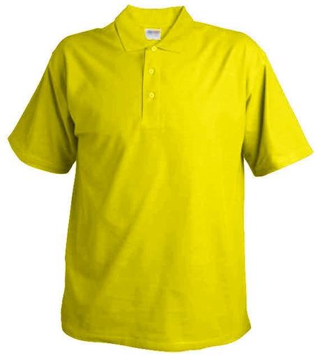 Obrázok z Pánska hladká polokošeľa Chok 190 žltá