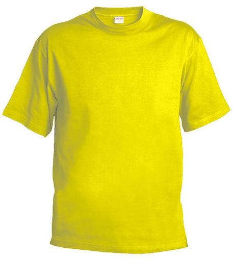 Obrázok z Pánske tričko T55 žltá