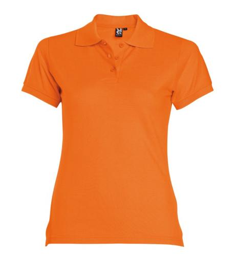 Obrázok z Dámska polokošeľa Estrella oranžová