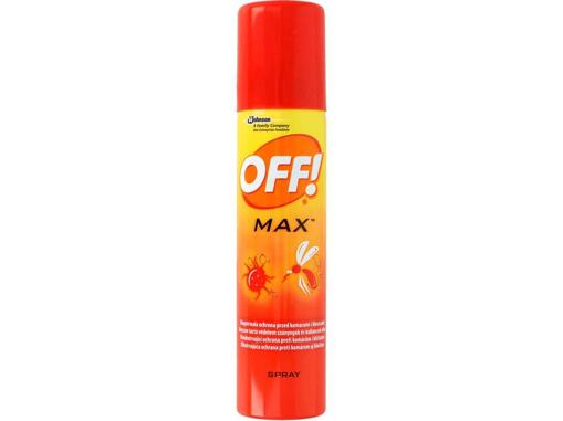 Obrázok z OFF Max repelentný sprej 100 ml - CZ