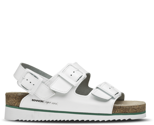 Obrázok z Bennon WHITE HORSE Heel Sandal Dámsky sandál
