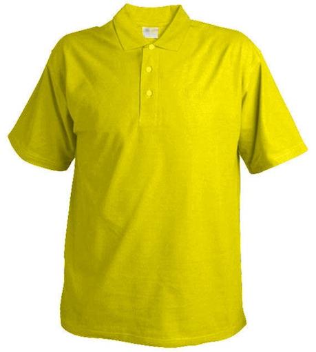 Obrázok z Pánska pique polokošeľa Chok 175 žltá
