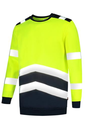 Obrázok z TRICORP T40 Sweater High Vis Bicolor Mikina unisex