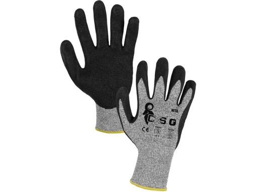 Obrázok z CXS NITA Pracovné protiporezové rukavice