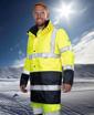 Obrázok z ARDON HI-VIZ Reflexná zimná bunda žltá + modrá