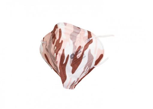 Obrázok z General Public Protection Dizajnová tvárová rúška TAKTIK Ružová