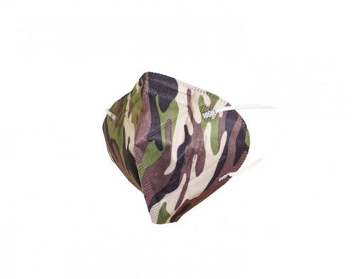 Obrázok z General Public Protection Dizajnová tvárová rúška TAKTIK Zelená