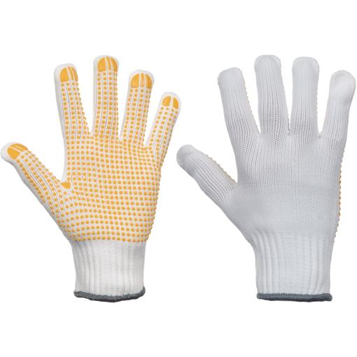 Obrázok z Cerva PLOVER YELLOW CUT Pracovné rukavice