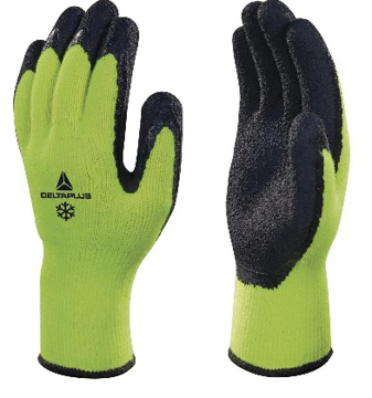 Obrázok z DeltaPlus APOLLON WINTER VV735 Pracovné rukavice zimné žlté