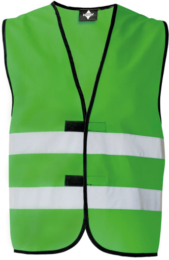 Obrázok z Korntex KXFW Reflexná vesta green